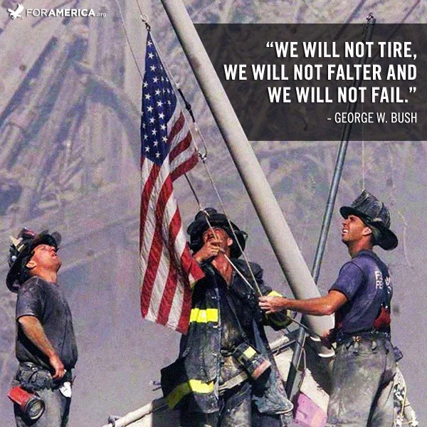 9/11 We will never forget….
