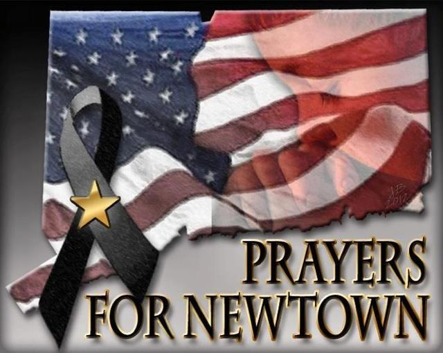 Our thoughts and prayers are with the people in Connecticut and throughout the world who are impacted by violence