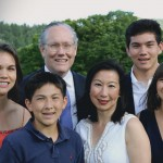 (071417) John Kingston, who is running for U.S. senate in 2018, in a campaign photo with his family. Courtesy of John Kingston/U.S. Senate 2018
