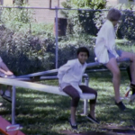 70s kids playing