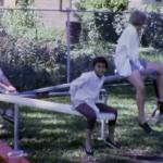 70s kids playing