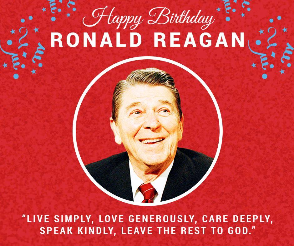 the beloved ronald reagan